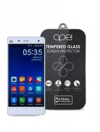 Tvrdené sklá Apei Slim Round Glass Protector for Xiaomi MI 4(0.3mm)