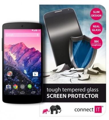 Tvrdené sklá Connect IT Ochranné tvrdené sklo LG Nexus 5 CI-472