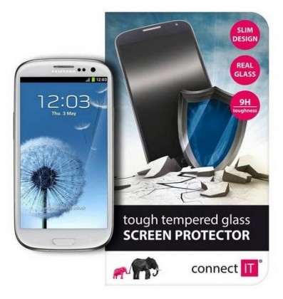 Tvrdené sklá Connect IT Ochranné tvrdené sklo Samsung S3 CI-448