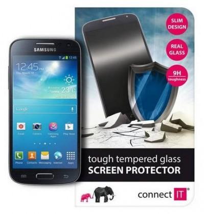 Tvrdené sklá Connect IT Ochranné tvrdené sklo Samsung S4 mini CI-454