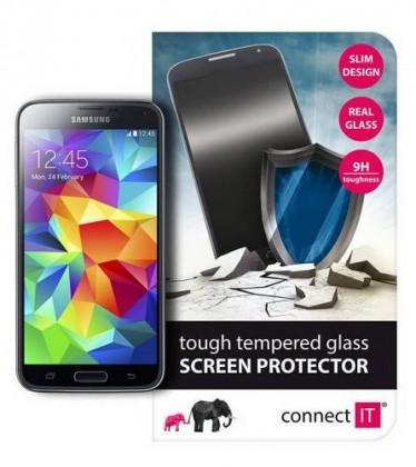 Tvrdené sklá Connect IT Ochranné tvrdené sklo Samsung S5 CI-450