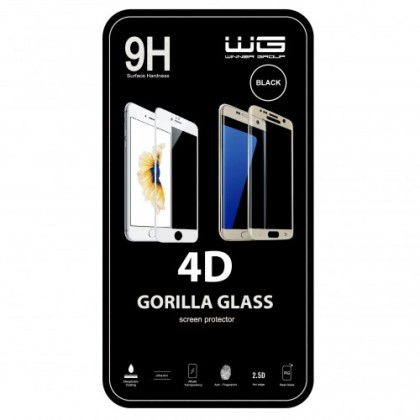 Tvrdené sklá iPhone Tvrdené sklo 4D Apple iPhone X/XS, čierne