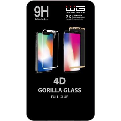 Tvrdené sklá Xiaomi Tvrdené sklo 4D pre Xiaomi Mi A3, Full Glue, čierna