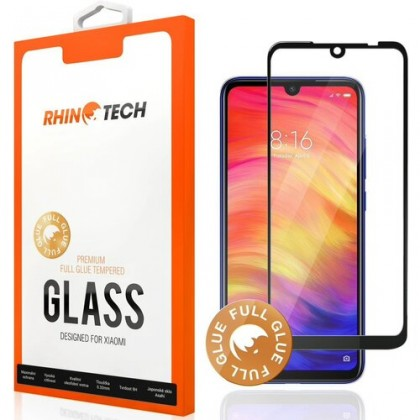 Tvrdené sklá Xiaomi Tvrdené sklo RhinoTech pre Xiaomi Redmi Note 9 Pro, Full Glue