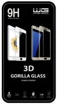 Tvrdené sklo 3D/Nokia 3/white