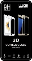 Tvrdené sklo 3D pre Huawei P10 Lite, čierna