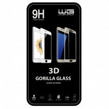 Tvrdené sklo 3D pre Xiaomi Mi A1, biela, POŠKODENÝ OBAL