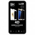 Tvrdené sklo 4D Apple iPhone X/XS, čierne