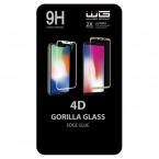 Tvrdené sklo 4D pre Huawei Nova 5T/Honor 20/20 Pro, čierna
