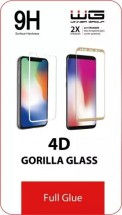 Tvrdené sklo 4D pre Samsung A10, Full Glue