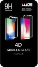 Tvrdené sklo 4D pre Samsung Galaxy A51, Full Glue, čierna POŠKODE