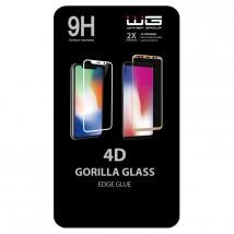 Tvrdené sklo 4D pre Samsung Galaxy A70, Edge Glue, čierna