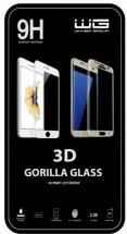 Tvrzené sklo 3D/Samsung Galaxy A3 (2017)/white