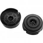 Uhlíkový filter TYP 58, 2 ks