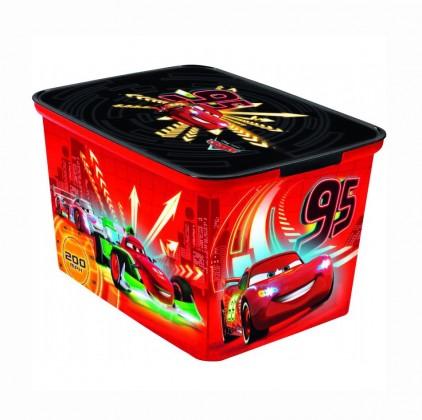 Úložný box - Amsterdam L Cars new (červená)