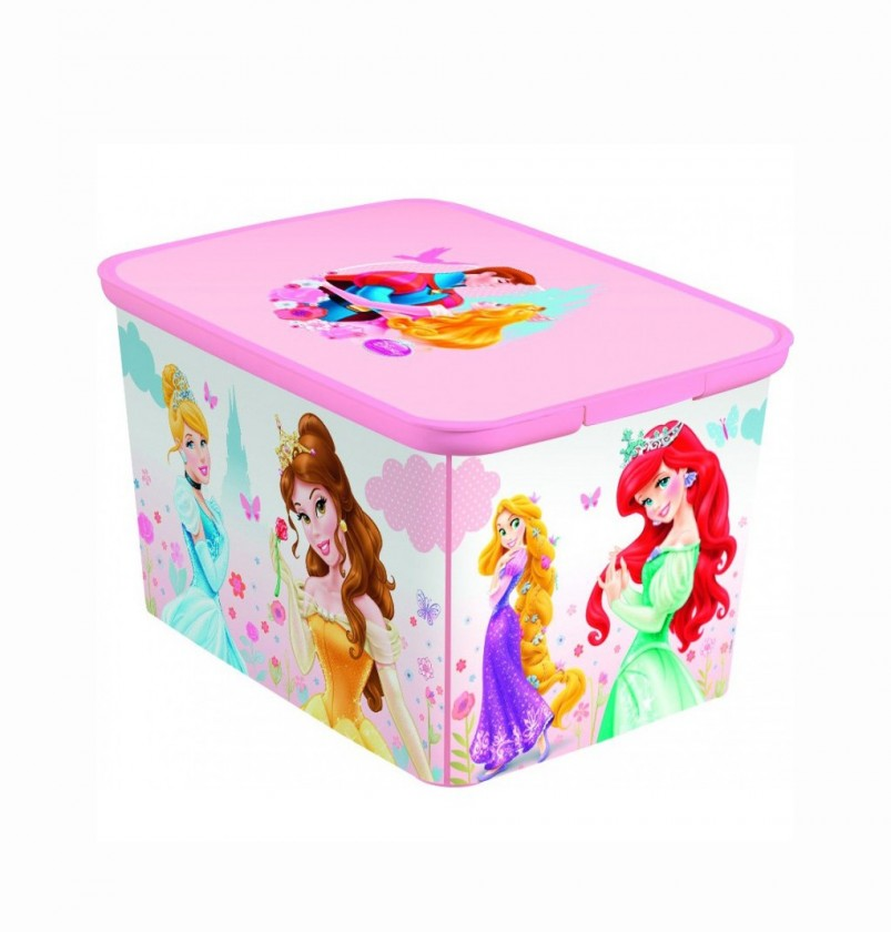 Úložný box - Amsterdam L Princess (růžová)