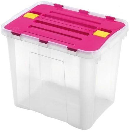 Úložný box Heidrun HDR1643, DRAGON, 30l, mix barex