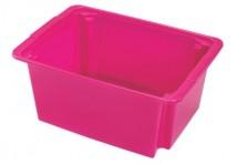 Úložný box Heidrun HDR5108, 14l, plast, mix farieb