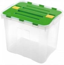 Úložný box s vekom Heidrun HDR1647, 24l, plast
