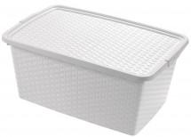 Úložný box s vekom Heidrun HDR4510, 10l, plast