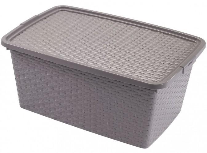 Úložný box s vekom Heidrun HDR4511, 20l, plast