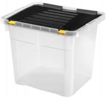 Úložný box s vekom Heidrun HDR654, 36l, plast