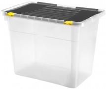 Úložný box s vekom Heidrun HDR660, 100l, plast