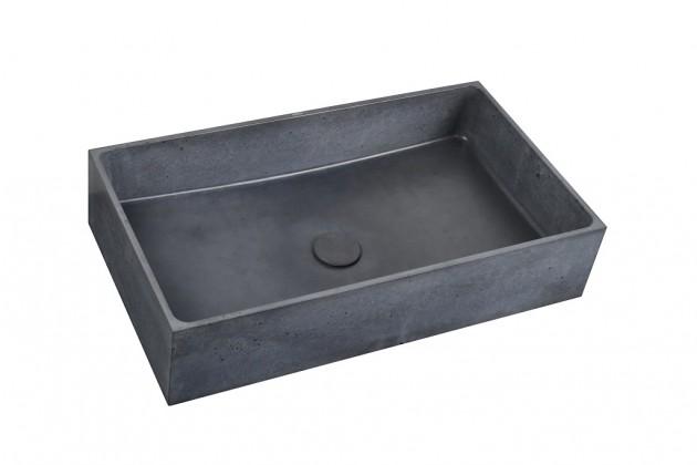 Umývadlá na dosku Umývadlo na dosku UD03 (antracit)