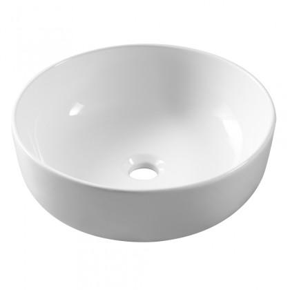 Umývadlá na dosku Umývadlo na dosku UD08 (38,5x14x38,5 cm, biela)