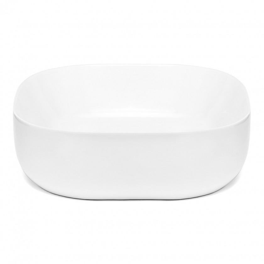 Umývadlá na dosku Umývadlo na dosku UD11 (43x13x43 cm, biela)