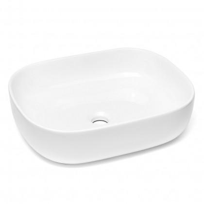 Umývadlá na dosku Umývadlo na dosku UD12 (50x13,5x40 cm, biela)
