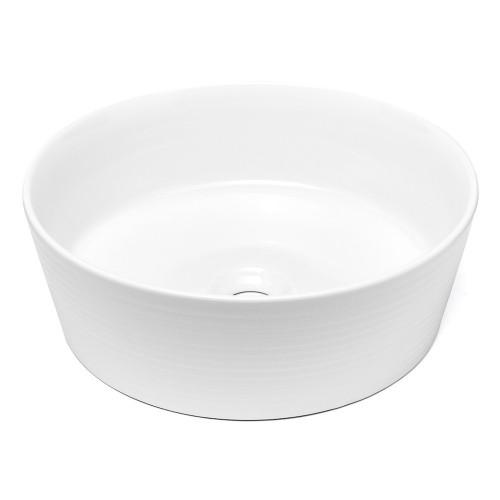Umývadlo na dosku UD10 (40x13,5x40 cm, biela)