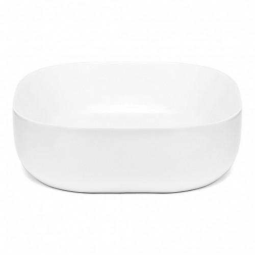 Umývadlo na dosku UD11 (43x13x43 cm, biela)