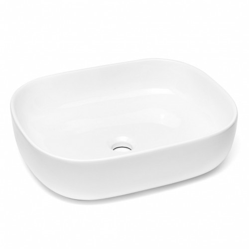 Umývadlo na dosku UD12 (50x13,5x40 cm, biela)