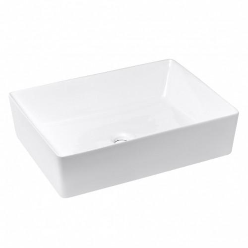 Umývadlo na dosku UD13 (55x13x39 cm, biela)