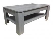 Universal - Konferenčný stolík (cement sivá)