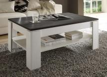 Universal - Konferenčný stolík (pinie biela/touchwood)