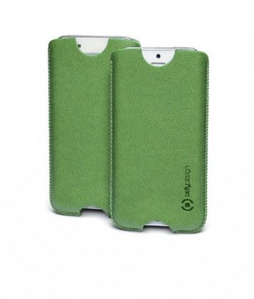 Univerzálne puzdrá na mobil Univerzálne puzdro Celly, vsuvka, 124×59×7,6m, zelené