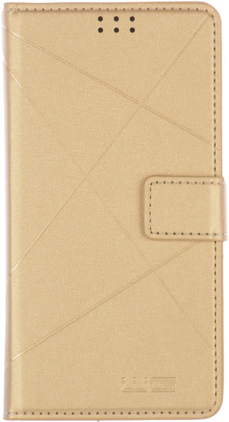"""Univerzálne puzdrá na mobil Univerzálne puzdro New Cross Unibook 5,5"""", zlaté"""