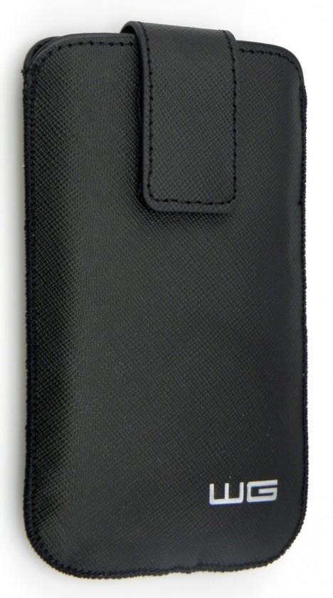 Univerzálne puzdrá na mobil Univerzálne púzdro pre telefón WG Pure, vsuvka, 88x158mm, čierna