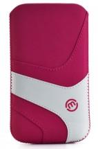 Univerzálne puzdro Maloperro 120x60mm, vsuvka, ružové/biele