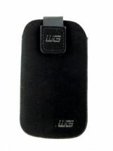 Univerzálne púzdro pre telefón, malé, vsuvka, čierna