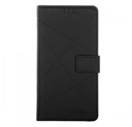 """Univerzálne puzdro pre telefón WG New Cross Unibook 5,5"""", čierne"""