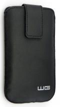 Univerzálne púzdro pre telefón WG Pure, vsuvka, 88x158mm, čierna
