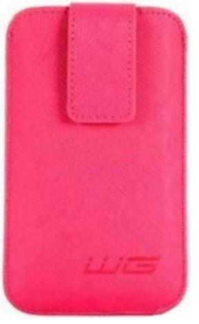Univerzálne púzdro pre telefón WG Pure, vsuvka, 88x158mm, ružová