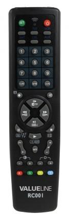 4f3060626 Nedis Univerzálny diaľkový ovládač BasicXL Diaľkové ovládače Univerzálny diaľkový  ovládač BasicXL