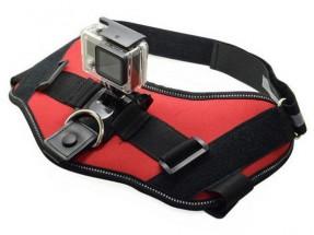 Univerzálny postroj na psa pre akčné kamery N211