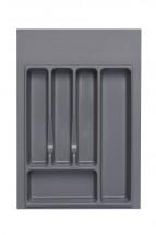 Univerzálny príborník 40 cm, sivá