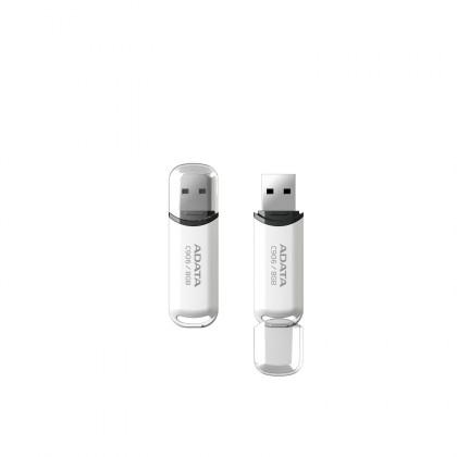 USB 2.0 flash disky A-DATA C906 8GB, biely