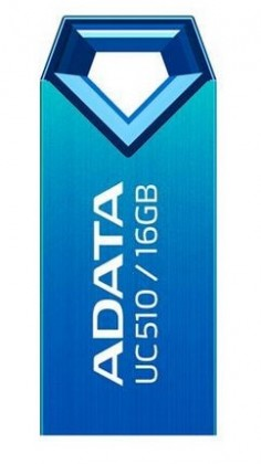 USB 2.0 flash disky A-Data UC510 16GB, modrý